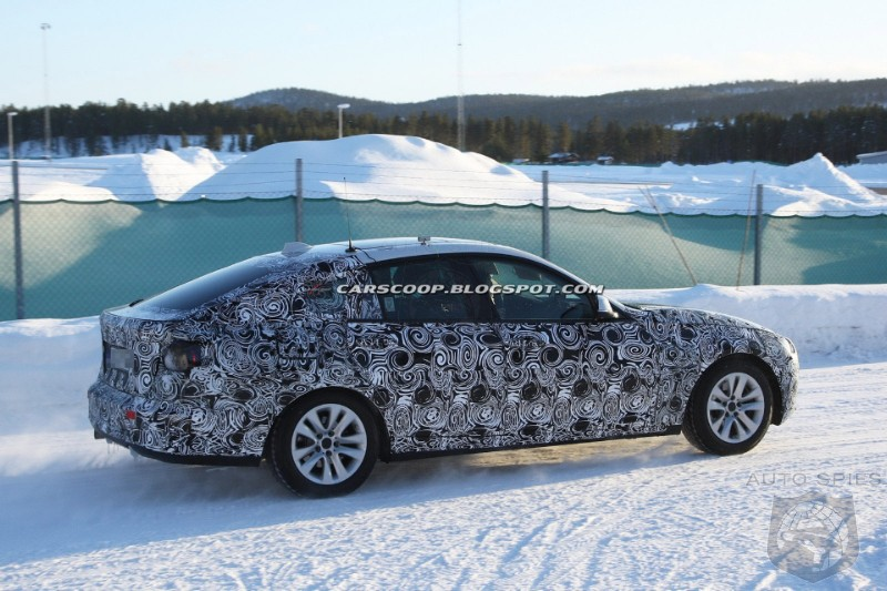 Spy Photos: F34 BMW 3 Series GT shows retractable rear spoiler